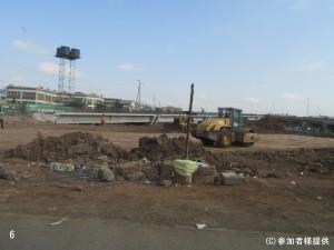 6.壊れた道路を再建(中国による建設